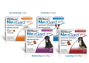 Nexguard Chewables 2-4kg Single