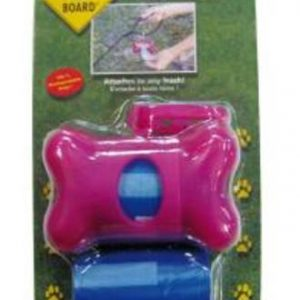 Bags On Board Bone Dispenser Pink
