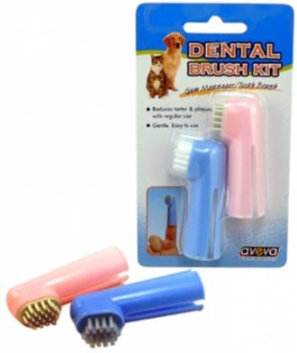 Finger Brush Oral Hygiene Kit